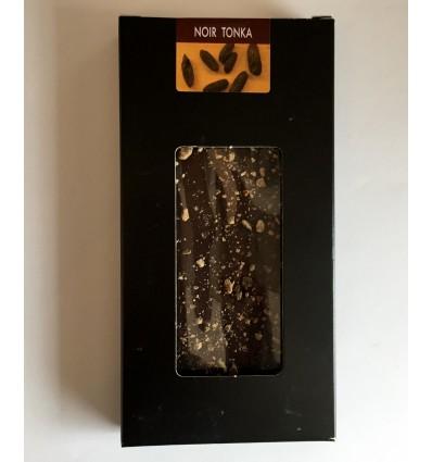 Tablette dégustation chocolat noir - tonka